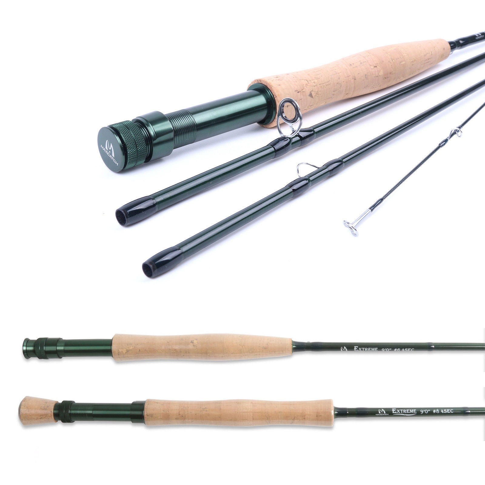 3-10WT Fly Rod Graphite IM8 Medium-fast Fly Fishing Rod Tube